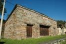 Antigua construcción ligada a la línea de tren